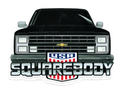 80s Front End SB USA Sticker