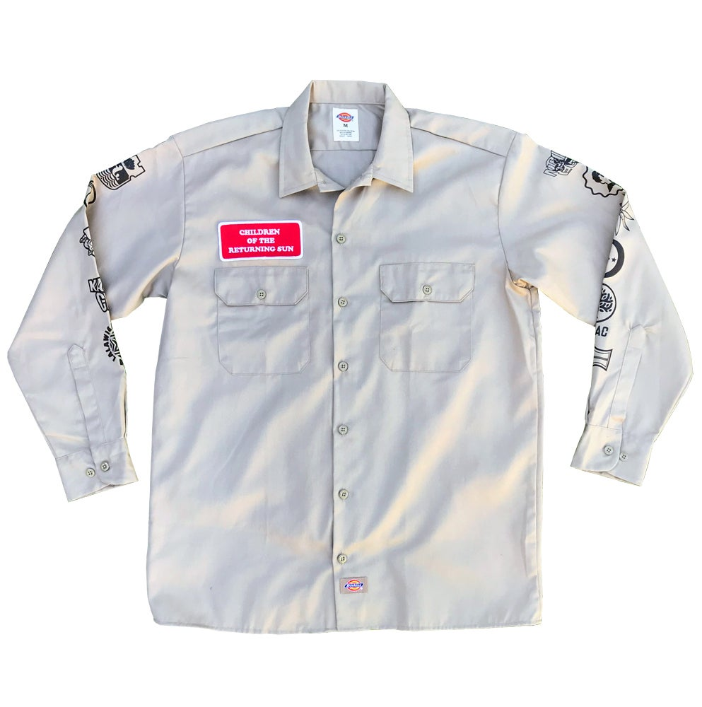 Image of Sun and Stars - Work Shirt - Khaki
