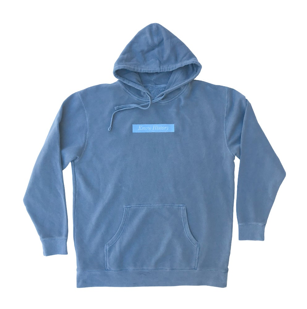 Image of History - Hoodie - Pigment Light Blue