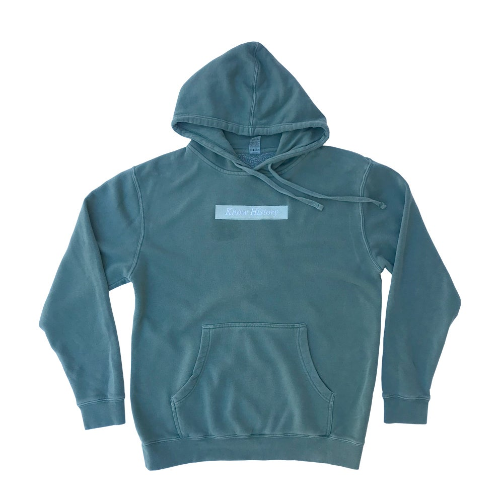 Image of History - Hoodie - Pigment Alpine Green