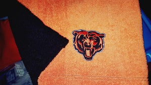 Image of Chicago Bears Themed Towel Shorts