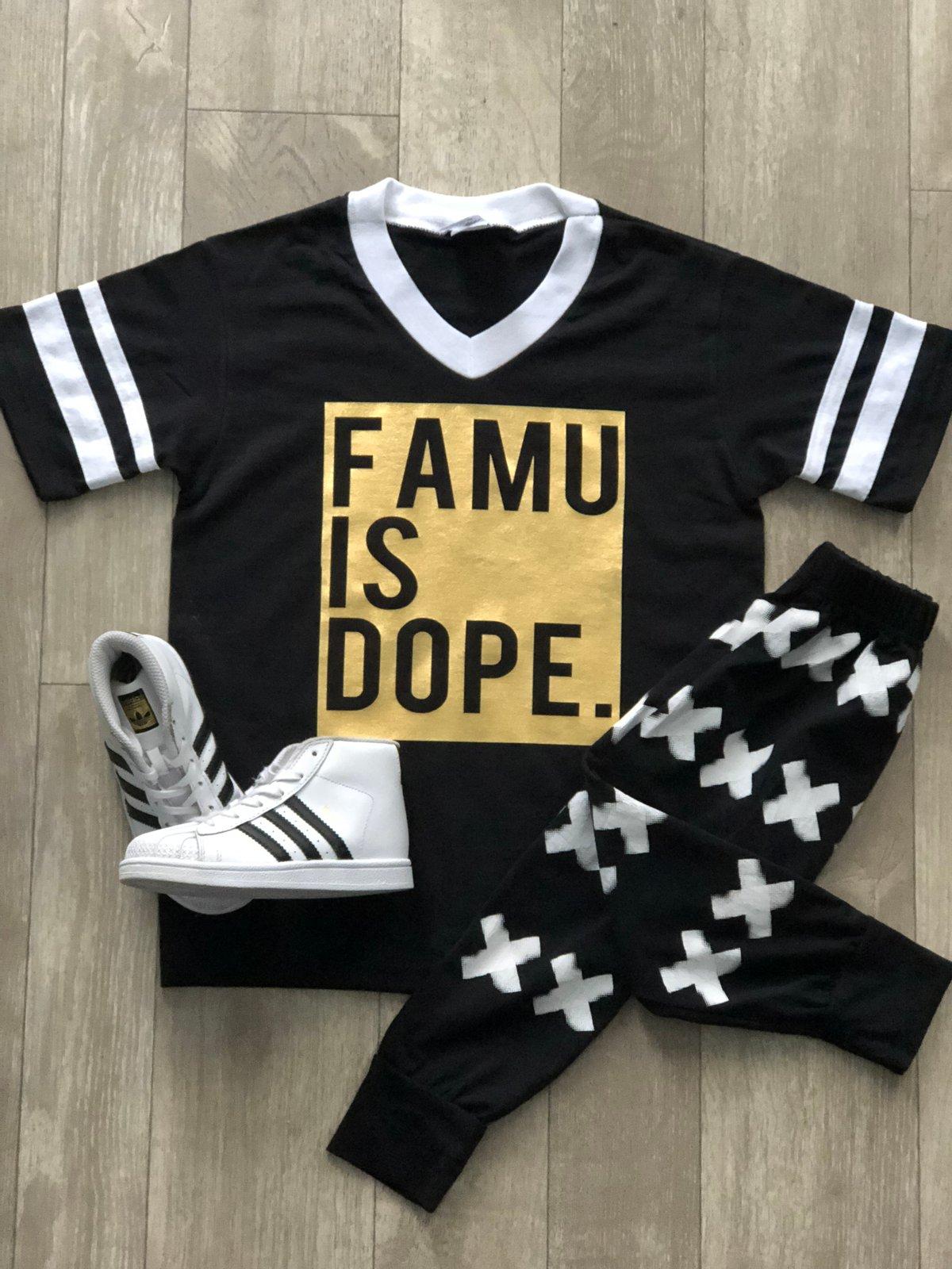 Image of FAMU IS DOPE METALLICS