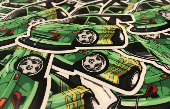 Image of Toon FC RX7 Sticker