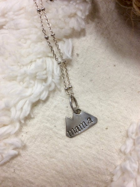Image of Mountain Mama necklace