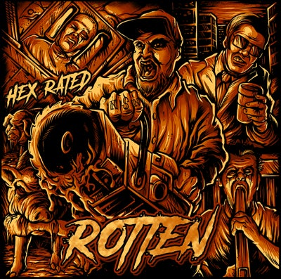Image of HEX RATED :   ROTTEN   CD