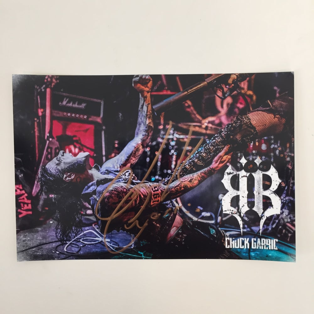 Image of OFFICIAL - BEASTO BLANCO - CHUCK GARRIC SIGNED GLOSSY PHOTO