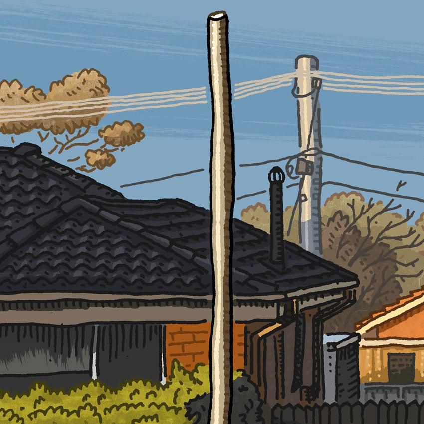 Image of Rivett, Darwinia Terrace, digital print