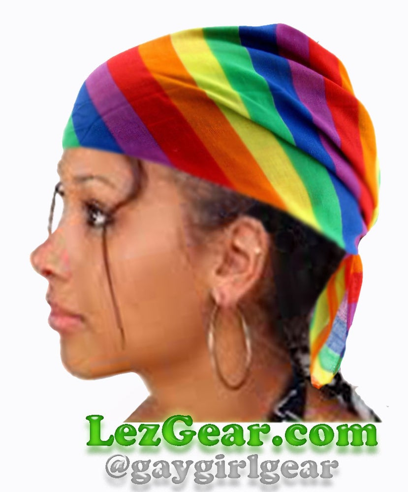 Image of Rainbow Bandana