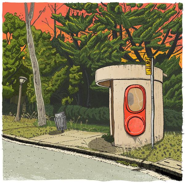 Image of O'Connor Miller Street, digital Print