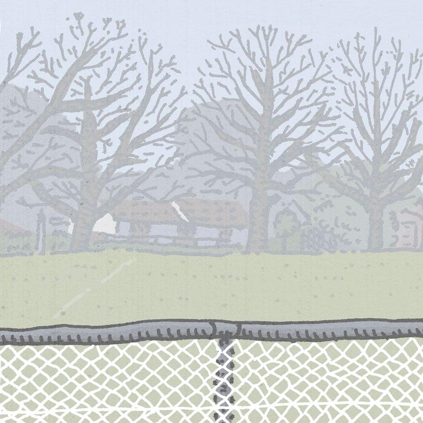 Image of Watson Knox Street, digital print