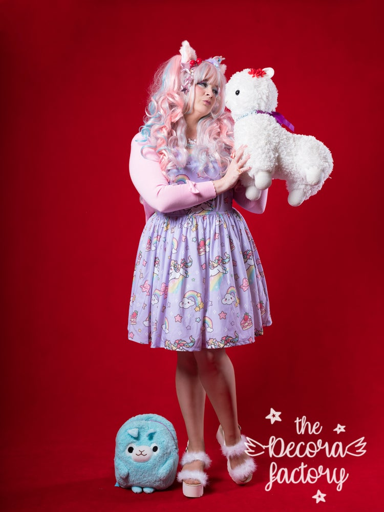 Image of KIRA KIRA! Star Unicorn Dress in Lavender