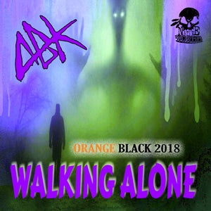 "Image of ABK - ORANGE BLACK 2018 - ""WALKING ALONE"" SINGLE"