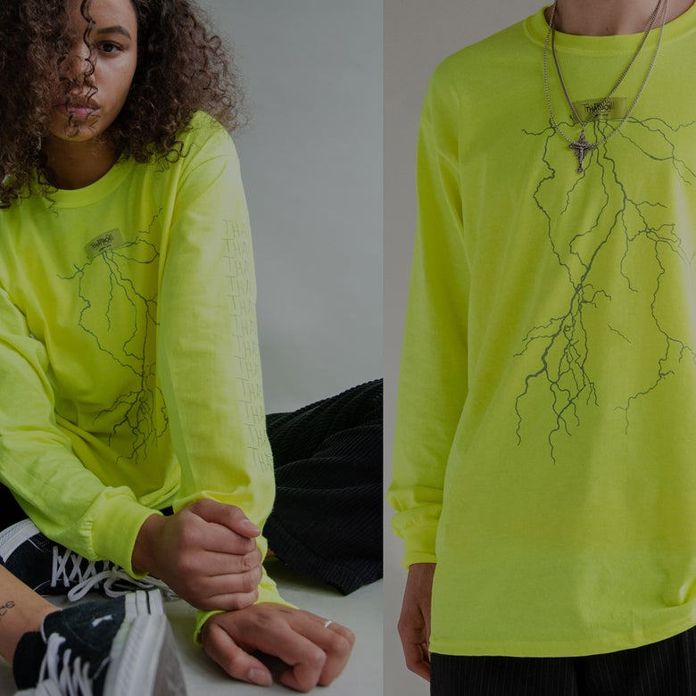 Image of COURANT LONGSLEEVE - NEON