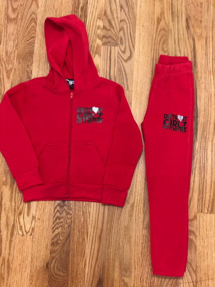 Image of The little girls joggers set