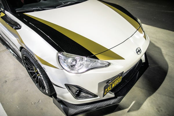 Image of Scion FRS/ Subaru BRZ/ Toyota FT86 Front Aero Downforce Splitter