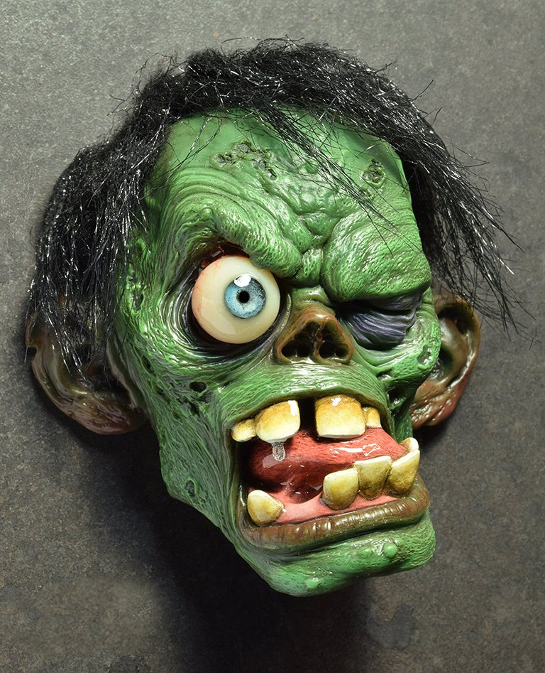 Image of Andy Bergholtz's Shock Monster Translucent Resin Magnet