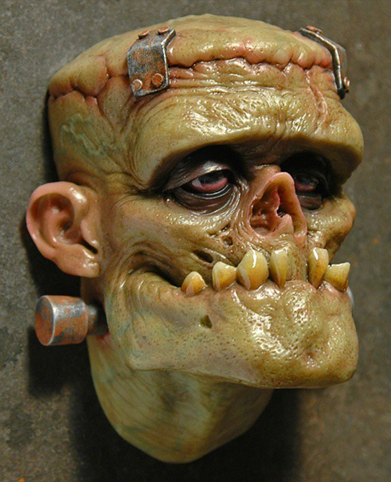 Image of Andy Bergholtz's Monster Translucent Resin Magnet