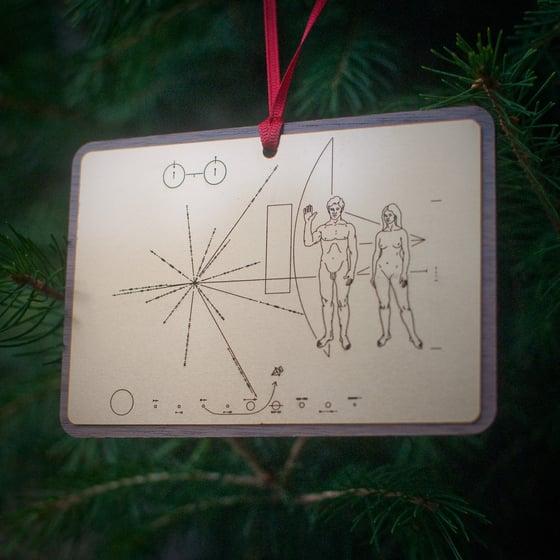 Image of Pioneer Plaque