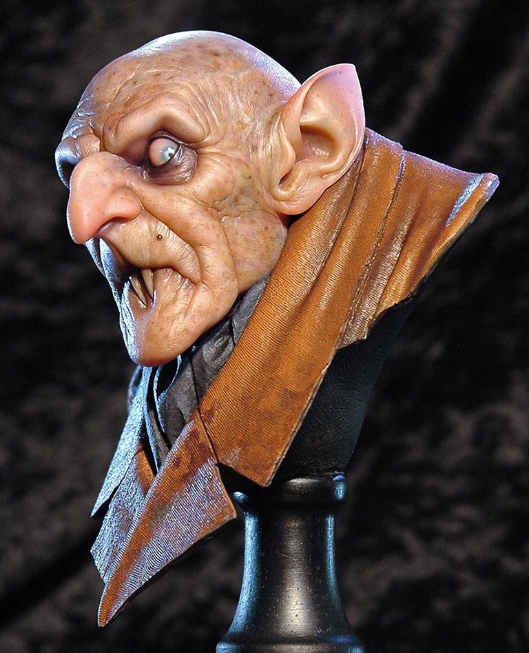 Image of Andy Bergholtz's Orlok Translucent Resin Bust