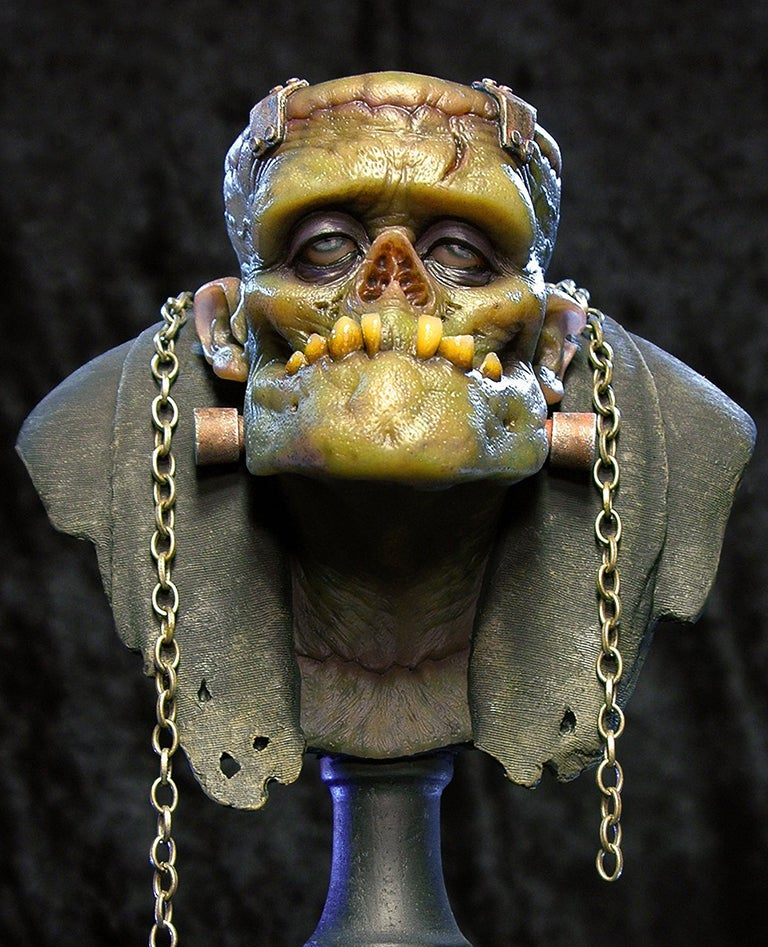 Image of Andy Bergholtz's The Monster Translucent Resin Bust