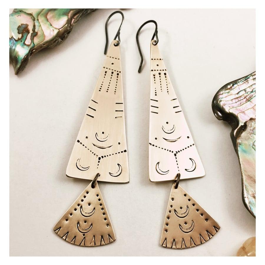Image of Spear Earrings