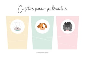 Image of Pack imprimible perritos