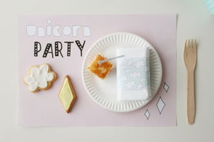 Image of Pack imprimible Unicorn Party