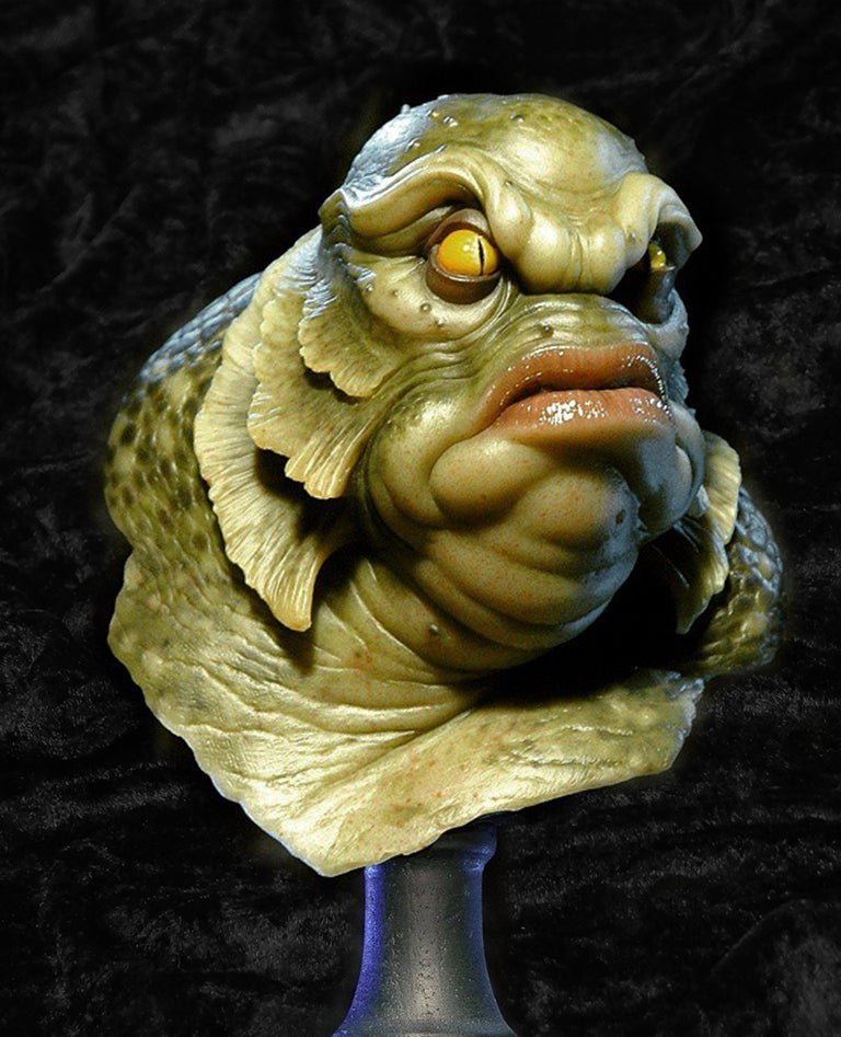 Image of Andy Bergholtz Creature Resin Bust