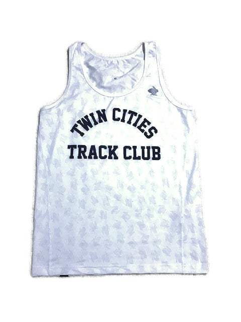 Image of WHITE TCTC Men's Singlet 2.0
