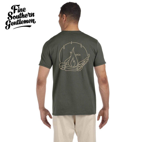 Image of Army Green Incandescent Tee