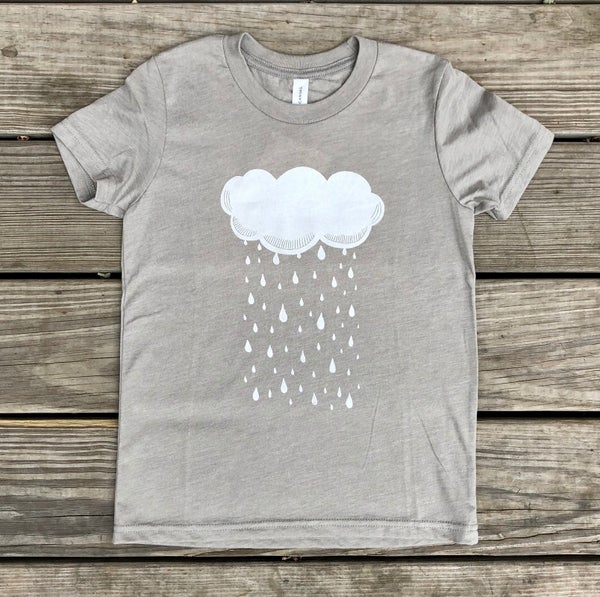 Image of Raincloud Youth Tee - Owlet Collection