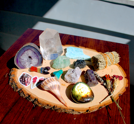 Image of Large Magical Metaphysical Healing Bundle + Altar Set