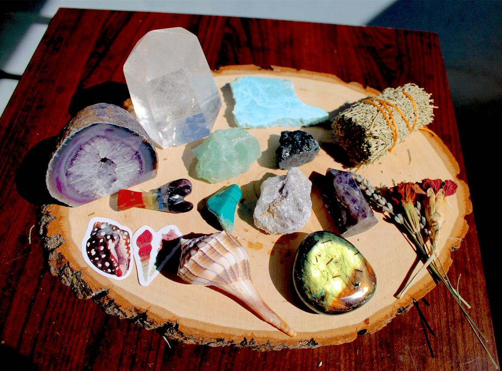 Image of Large Magical Metaphysical Healing Bundle + Altar Set