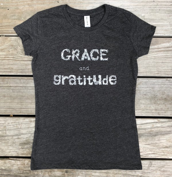 Image of Grace and Gratitude Organic Blend Tee