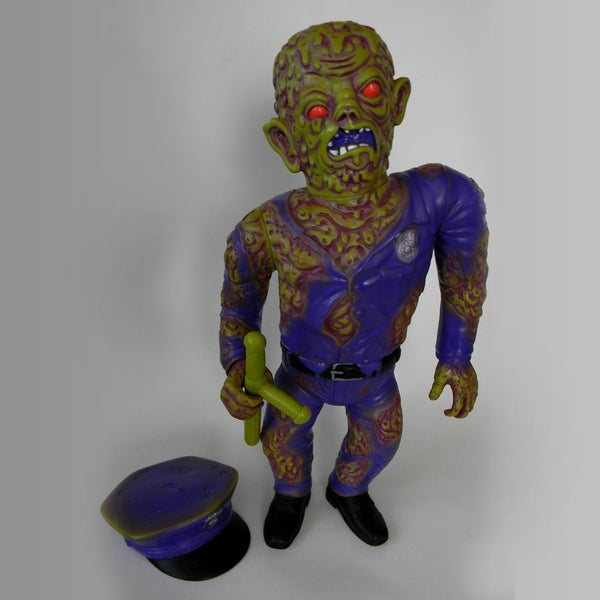 Image of Violence Toy Cop - Mean Green