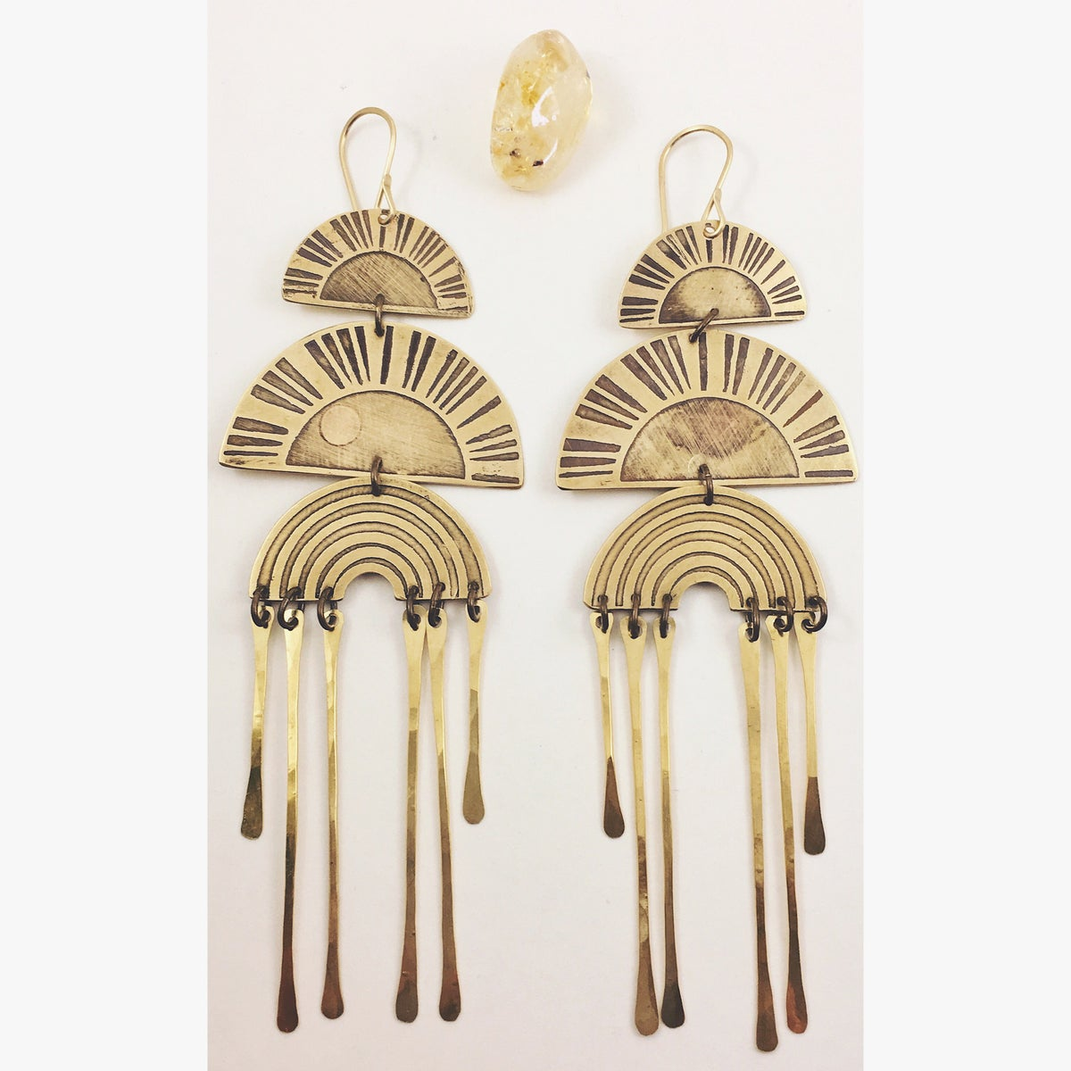 "Image of ""You are my Sunshine"" Earrings"