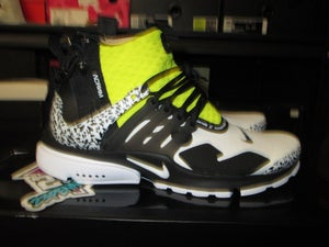 "Image of Air Presto Mid x ACRONYM ""Dynamic Yellow/Blk"""