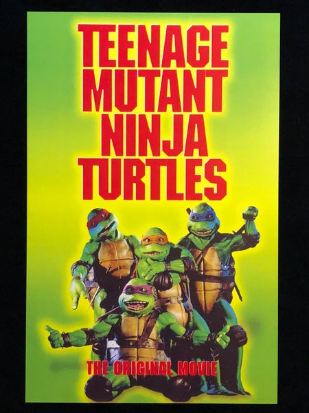 Image of TMNT VHS Print