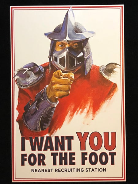 Image of The Foot Wants YOU Print