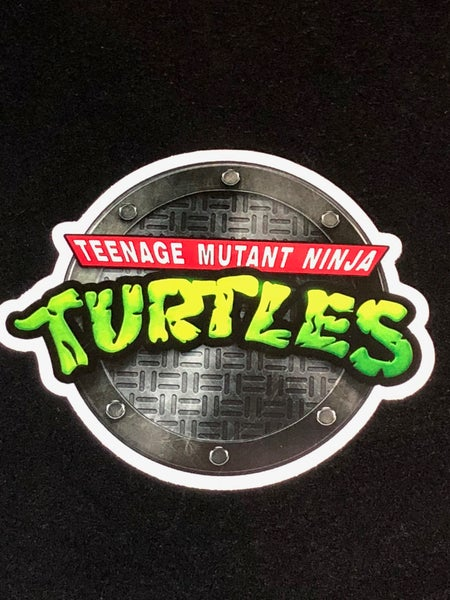 Image of TMNT LOGO 2 Premium Vinyl Sticker