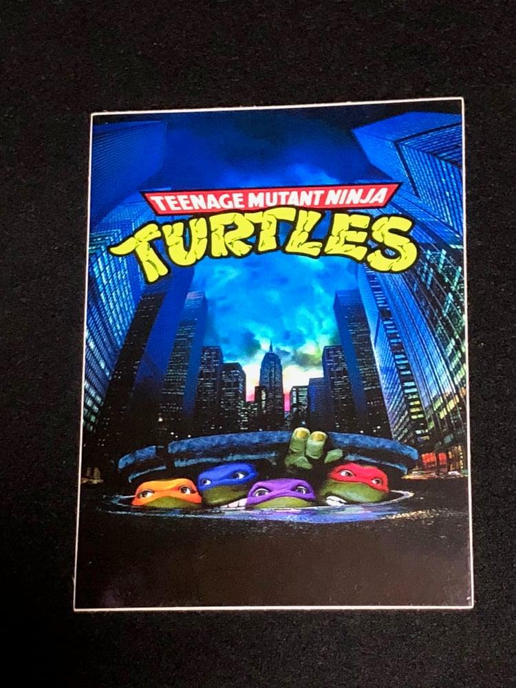 Image of TMNT Sewer Premium Vinyl Sticker