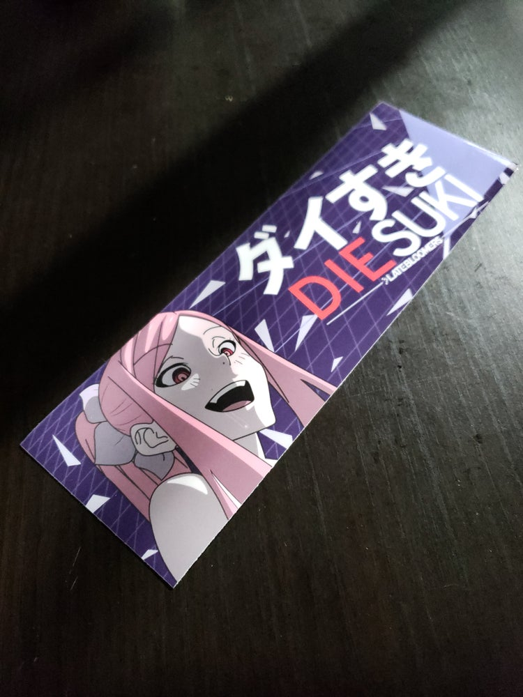 Image of DIEsuki | Yandere Hanachan V2 with/Vinyl UV Coating