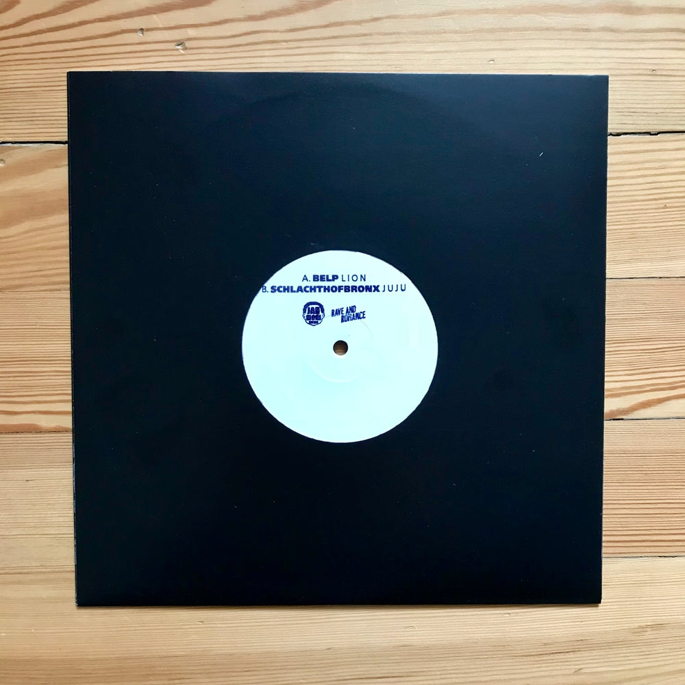 "Image of JUJU b/w LION - Schlachthofbronx x Belp split 10"" vinyl"