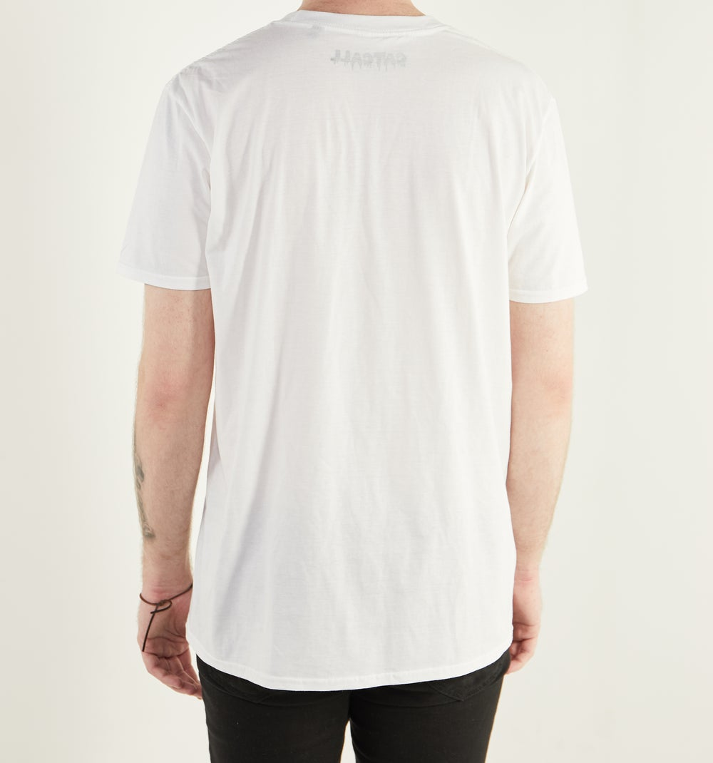 Image of Hold It Together T Shirt WHITE