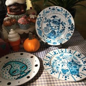 Image of Ultramarine Dream Series Cat Dish 2