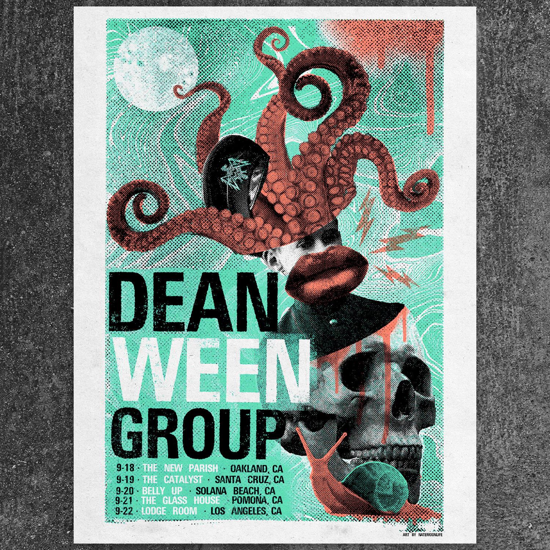 "Image of Dean Ween Group • 18""x24"" Screen Print - California 2018"