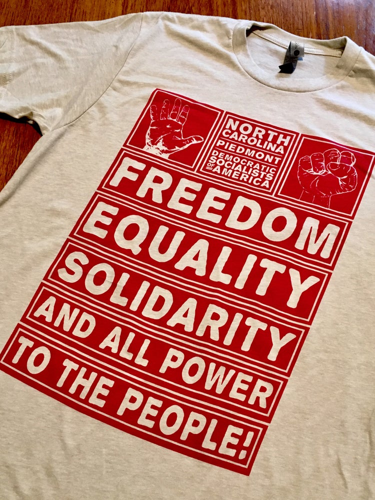 Image of Liberty, Equality, Solidarity Tee