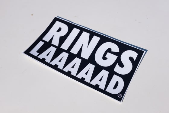 "Image of Juicebox ""Rings Laaaad"" sticker"