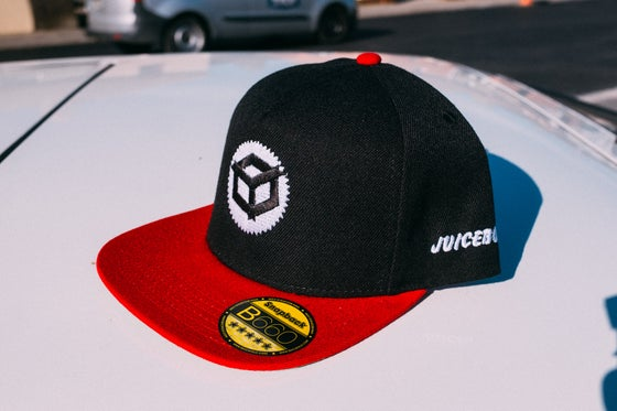 Image of Juicebox Snap Back Red