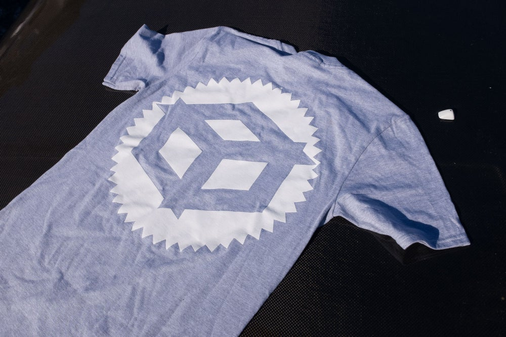 "Image of Juicebox ""Badge"" T-shirt Grey"